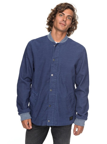 En eBay tenemos por 53,29 euros esta chaqueta de pana para hombre Hammer Breaks de Quiksilver