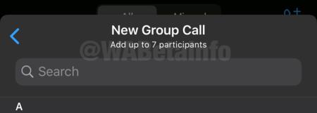 Videollmadas Whatsapp 8 Participantes