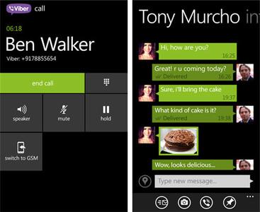 [Actualizado] Viber recibe su mayor actualización con llamadas en HD y live tiles, sólo para Windows Phone 8