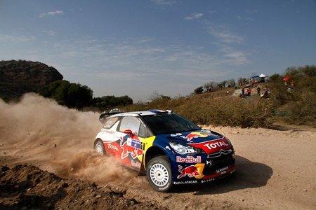 Rally de México 2012: Sébastien Loeb nuevo líder de la prueba