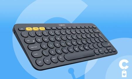 Conecta hasta 3 dispositivos a este teclado Bluetooth: Logitech K380, ahora en Amazon por sólo 31,99 euros