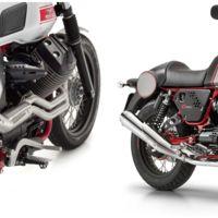 Dos versiones muy exclusivas de la Moto Guzzi V7 II: Stornello y Racer