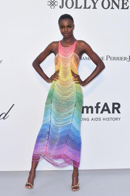 Leomie Handerson gala amfar 2019