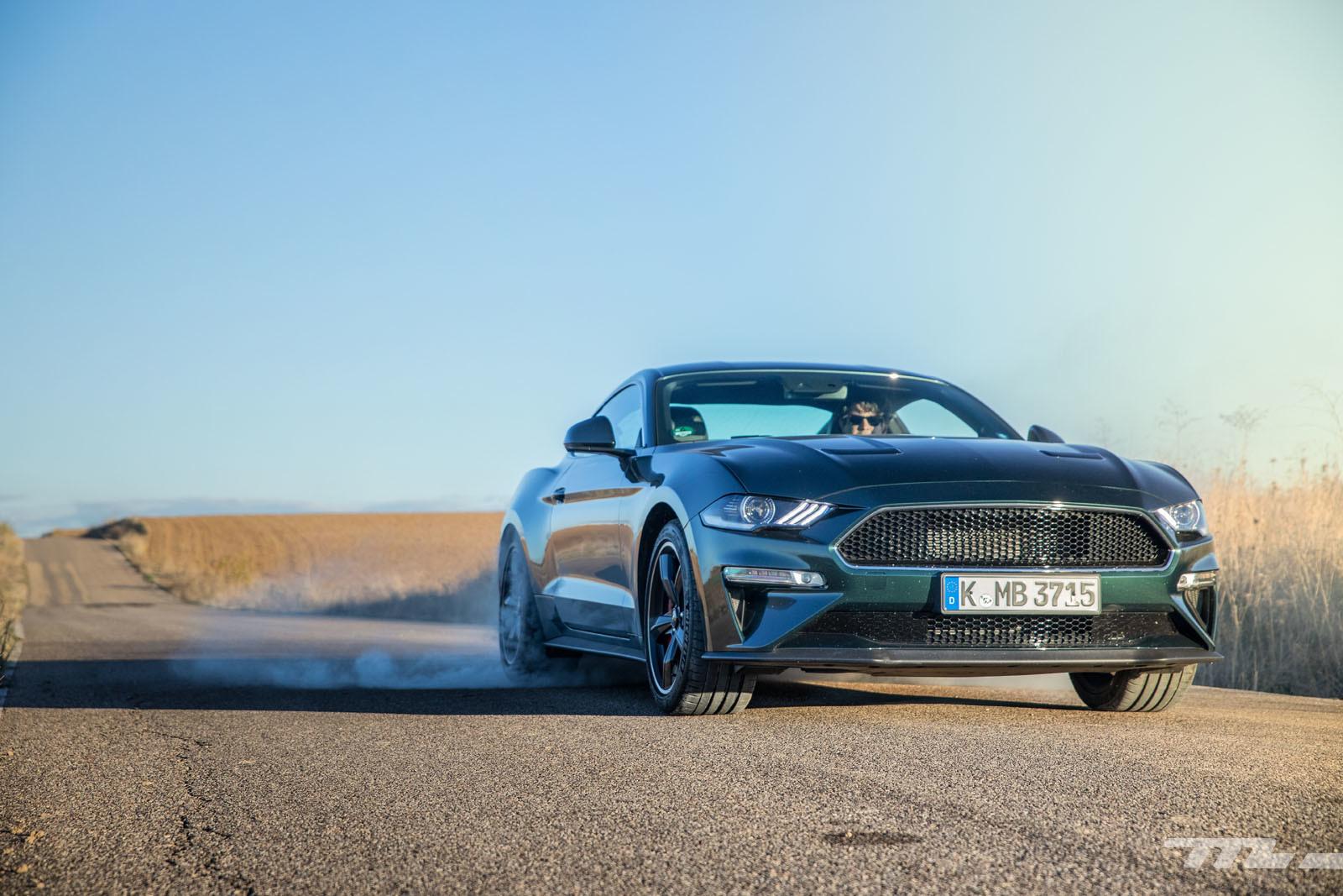 Foto de Ford Mustang Bullitt (prueba) (21/45)