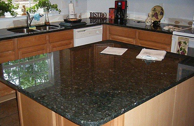 C mo limpiar una encimera de granito - Precios del granito para cocinas ...