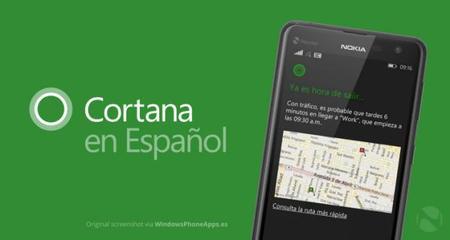 Cortana Spanish