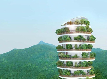 The Canopy Tower, los jardines de Babilonia de Hong Kong