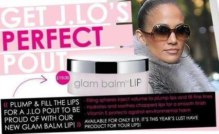 Jennifer López fan del 'glam balm Lip' de Rodial