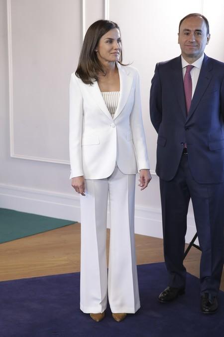 Traje Blanco Letizia 1