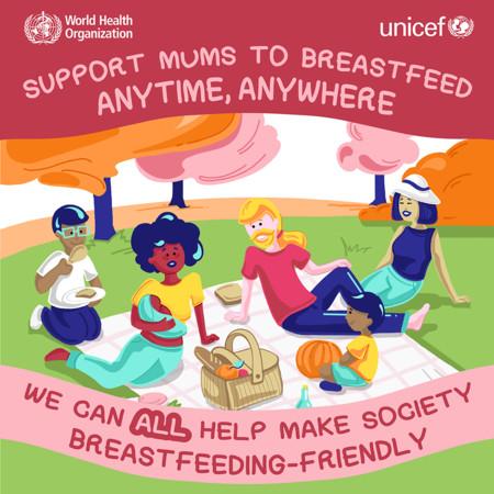 Breastfeedingweek2016 A Picnic