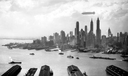 Hindemburg sobre Nueva York