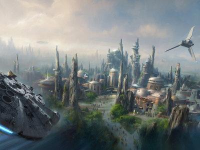 La Fuerza es más poderosa que nunca, Disney anuncia el nuevo parque temático de Star Wars