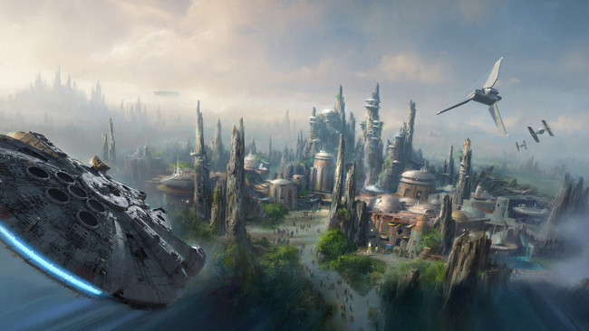 Disney Star Wars Theme Parks