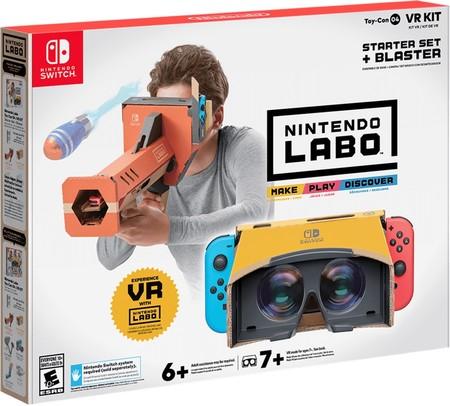 Nintendo Labo Vr Kit 1