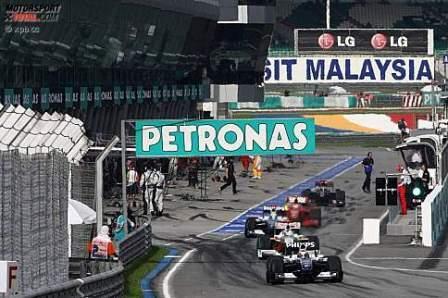 Cargas y estrategias para la carrera del Gran Premio de Malasia