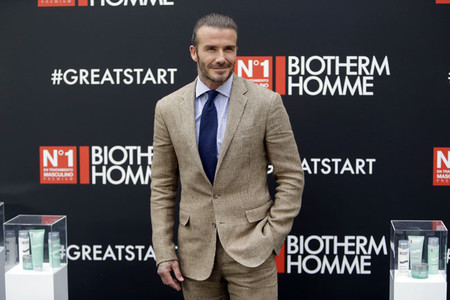 David Beckham, embajador de Biotherm Homme