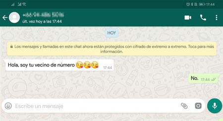 Cómo configurar WhatsApp para evitar que te moleste tu vecino de número