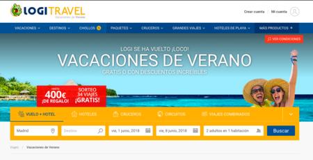 Descuentos directos de hasta 400 euros en tus vacaciones con Logitravel