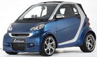 Smart ForTwo preparado por Lorinser, con más escapes que cilindros