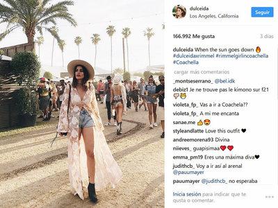 Las chicas más seguidas de Instagram también se lo han pasado en grande en Coachella