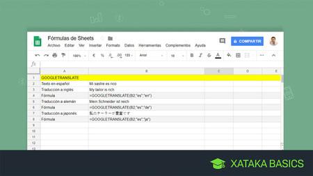 17 fórmulas de Google Sheets para convertirte en un maestro de las hojas de cálculo de Google