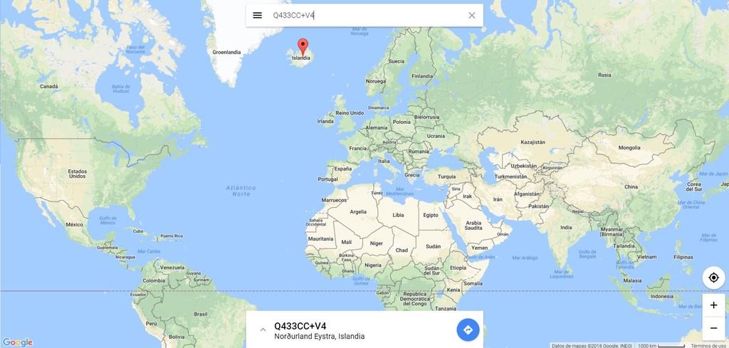 Codigos Plus Google Maps Web
