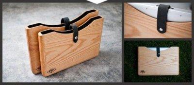 Blackbox, preciosa funda de madera para el MacBook Pro