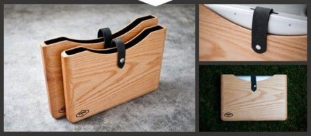 Blackbox, preciosa funda de madera para el MacBook Pro