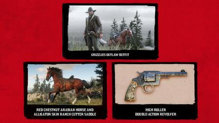 Red Dead Redemption 2 Contenidos Ps4