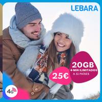 Más minutos y algún recorte de GB, lo que diferencia las nuevas tarifas de Lebara frente a Llamaya