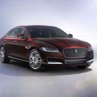 Así es el Jaguar XF L para China