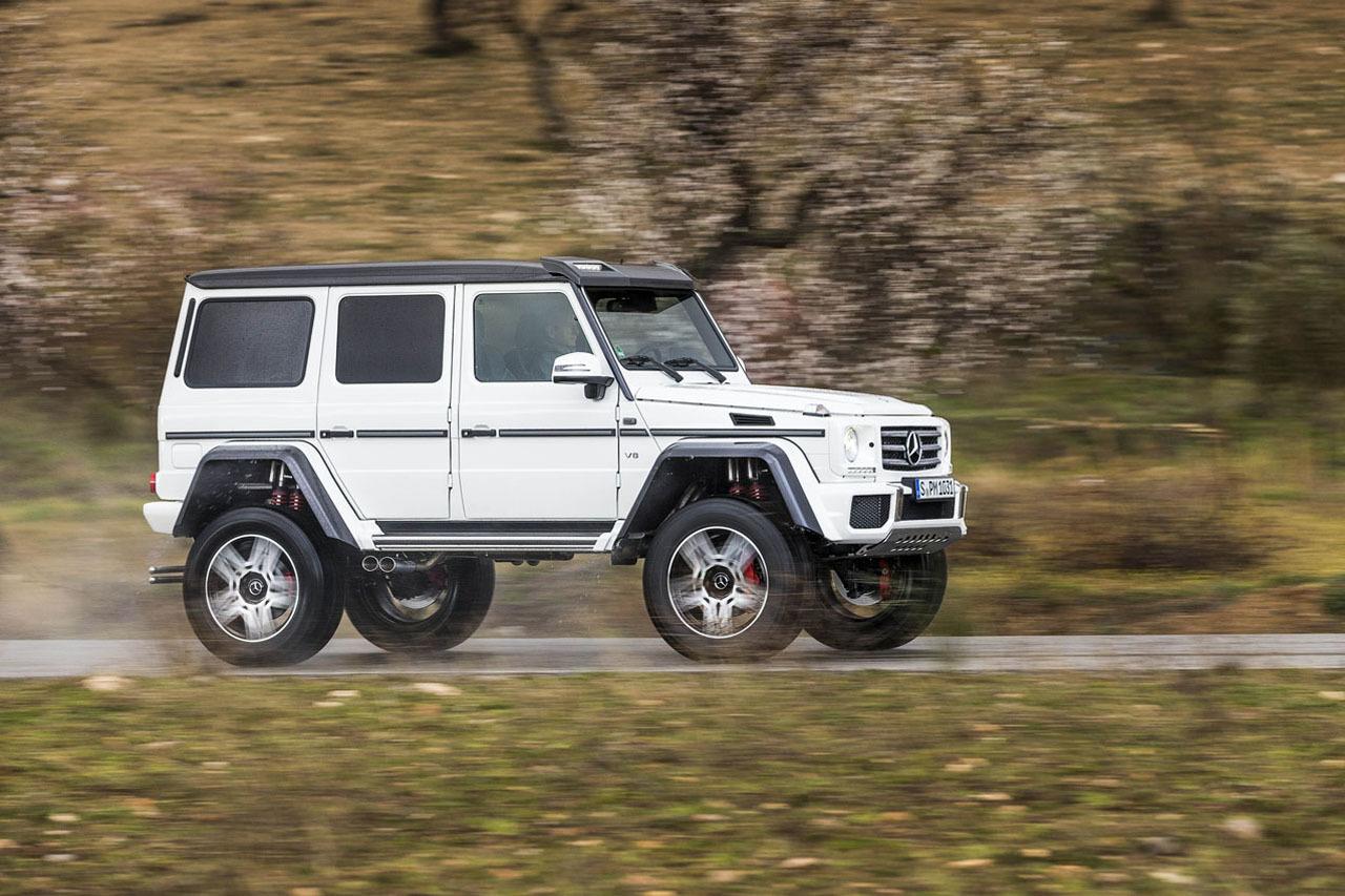 Foto de Mercedes-Benz G 500 4x4², toma de contacto (100/127)