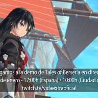 Streaming de Tales of Berseria hoy a las 17:00h (las 10:00h en Ciudad de México) [finalizado]