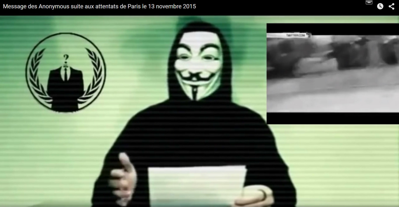 Así está siendo la lucha de uno de los grandes enemigos de ISIS en internet: Anonymous