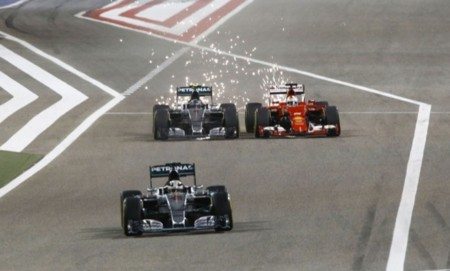 Sebastian Vettel y su carrera más gris
