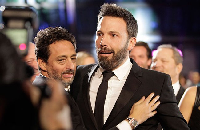 Ben Affleck durante la gala de los Critics Choice Awards