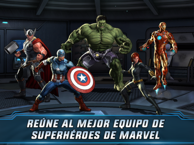 Marvel: Avengers Alliance 2, vive batallas épicas de 3 contra 3 con tus superhéroes favoritos