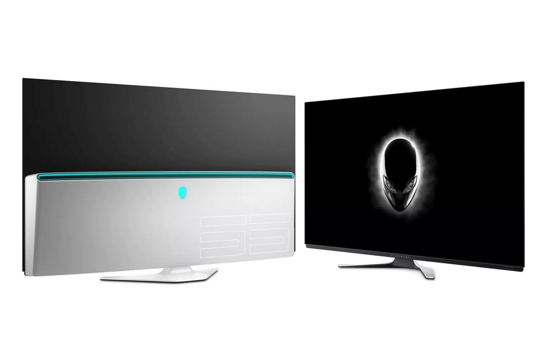 Jugando a lo grande: Alienware lanza su monitor OLED gigante de 55 pulgadas con refresco de 120 Hz