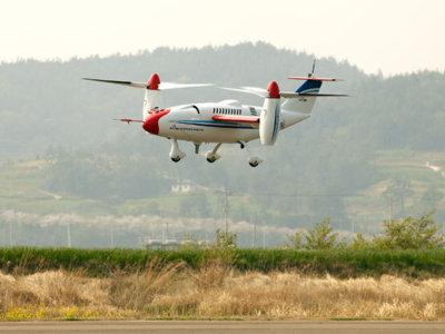 En Corea tienen un dron con rotor basculante que vuela a 500 kilómetros por hora