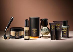 El ritual del afeitado tiene nombre italiano. Así es la nueva línea Barbiere de Acqua di Parma