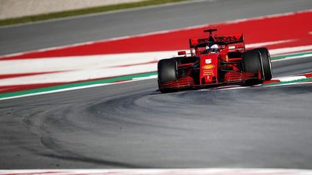 Vettel Montmelo F1 2020