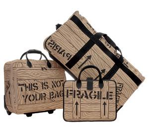 Colección de maletas This is not your bag: encuentra las tuyas antes que nadie