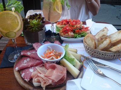 El aperitivo en Italia es una cosa muy seria