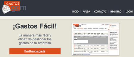 GASTOSgem, servicio web para la gestión de gastos