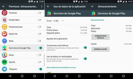 Servicios Google Play Error