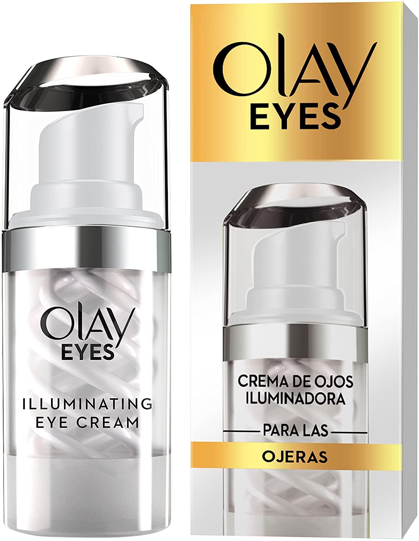 Olay Eyes Brightening Eye Cream, Crema contorno de ojos para manchas con niacinamida y cafeína