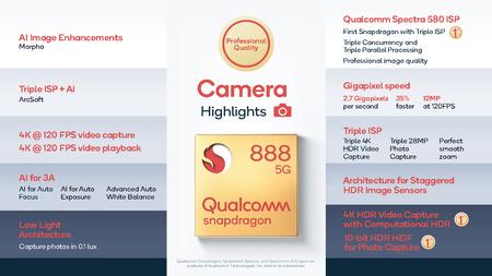 Qualcomm Snapdragon 888 Caracteristicas Tecnicas Camara Fotografiaa