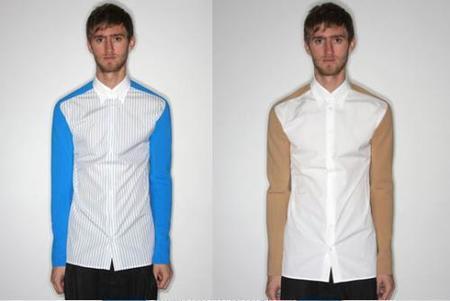 Raf Simons apuesta también por el neopreno en sus camisas