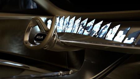 El próximo prototipo de coche eléctrico de Kia no tiene una ni dos, sino 21 pantallas en el tablero