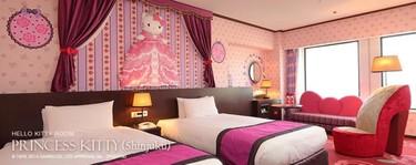 El Hotel de Hello Kitty abre en Tokyo, ¿no da un poquito de miedo?